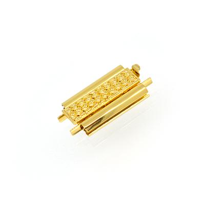 ビーズ織り ステッチ シート止め金具