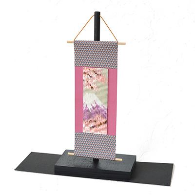 デリカビーズ織りミニ掛け軸キット<富士山>