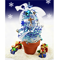 クリスマスツリー・ブルー
