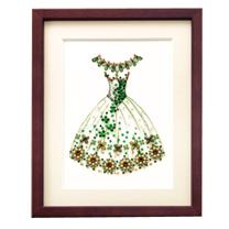ビーズデコール<花のワルツ(ドレス)>
