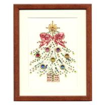 ビーズデコール<クリスマスツリー>