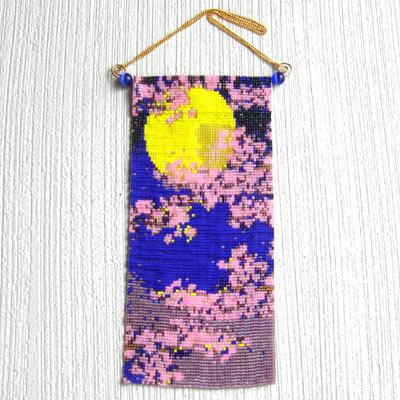 ミニタペストリー(月見桜)