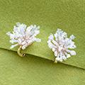 デリカビーズ織りで作るティッシュカバー(桜)