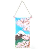 ミニタペストリー(富士山と桜)