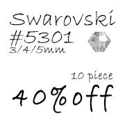 スワロフスキー クリスタル 5301セール